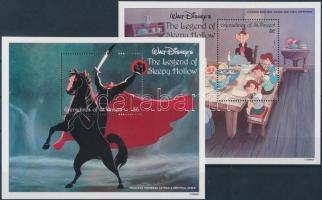 1992 Walt Disney kisív Mi 1062-1072 + blokk 135, 136