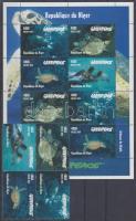 1998 Greenpeace négyestömb + kisív Mi 1472-1475