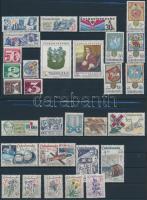 1978-1979 8 klf sor + 10 önálló érték 3 db stecklapon