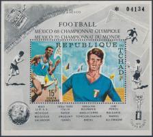 1970 Olimpia és Labdarúgó VB. blokk Mi 8 A