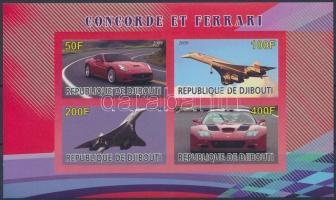 2009 Concorde és Ferrari vágott blokk