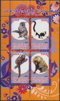 Animals minisheet, Állatok kisív