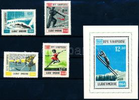 Winter Olympics, Innsbruck (I) setI + block, Téli olimpia, Innsbruck (I) sor + blokk