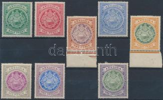 1908 Forgalmi sor Mi 26-33
