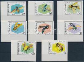 1982 Méhek ívsarki vágott sor Mi 1204-1211