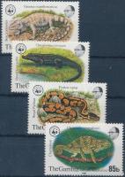 1981 WWF Abuko Nemzeti Park sor Mi 430-433