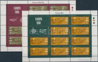 1980 Europa CEPT: híres emberek kisív sor Mi 615-616