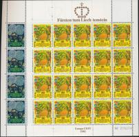 1981 Europa CEPT: Folklór kisív sor Mi 764-765