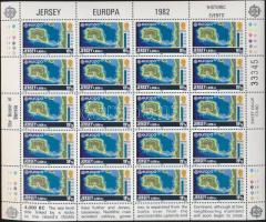 1982 Europa CEPT: Történelmi események kisívsor Mi 278-281