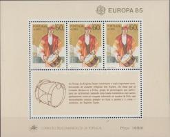 Europa CEPT: Music Year block, Europa CEPT: a zene éve blokk