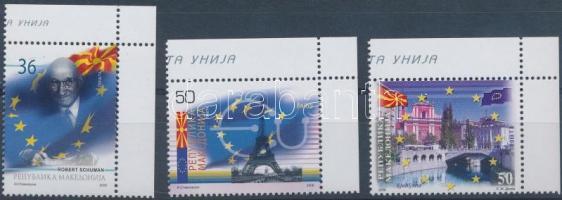 2008 EU csatlakozás ívsarki sor Mi 464-466