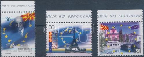 2008 EU csatlakozás ívszéli sor Mi 464-466