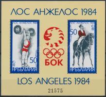 1982 Nyári Olimpia, Los Angeles blokk Mi 132