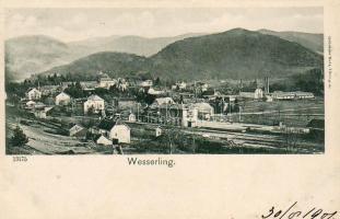 Wesserling, Husseren-Wesserling, factory, railway station