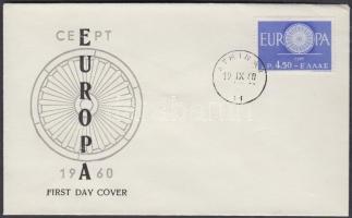Europa CEPT on FDC, Europa CEPT FDC-n