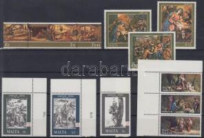 1975-1986 4 db Festmény sor