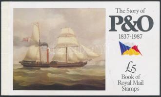 1987 P&O története bélyegfüzet Mi MH 80