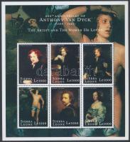 2000 Van Dyck: Festmények kisív Mi 3460-3465
