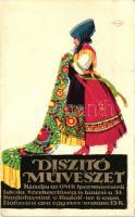 Hungarian decorative arts, folklore, Díszítő Művészet, kiadja az OMK Iparművészeti Iskola