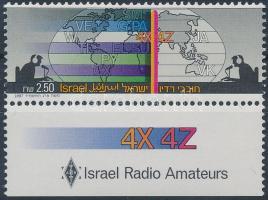 Radio set with tab, Rádiózás tabos bélyeg