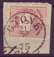 1874 5 kr GYÖNK