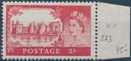 1955 Mi 279 ívszéli