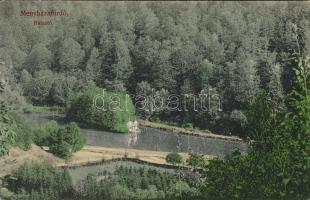 Menyházafürdő fishing lake (Rb)