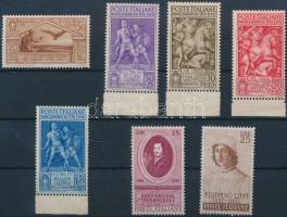 1930-1958 7 db Művészet érték Mi 354, 629-632, 995, 1020