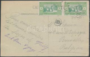 Postcard to Belgium Képeslap Belgiumba