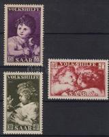 1953 Festmények Mi 344-346