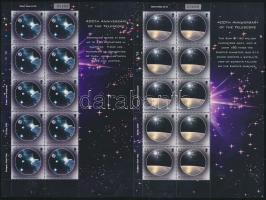 2009 Europa CEPT csillagászat 2 kisív Mi 1239-1240