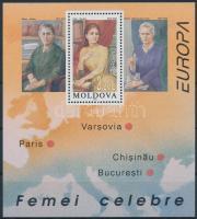 1996 Európa CEPT: Híres nők blokk Mi 9