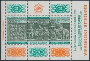 1968 Buddhista szentély védelme blokk Mi 10