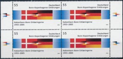 2005 Koppenhága négyestömb Mi 2449