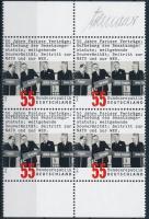 2005 50 éves a Párizsi szerződés négyestömb Mi 2459