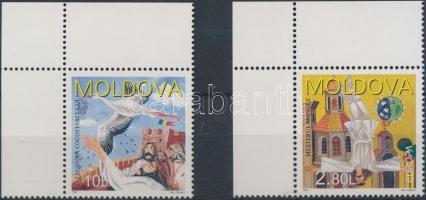 1997 Európa CEPT: Mondák és legendák ívsarki sor Mi 236-237