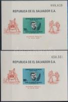 1969 Apolló 11 blokksor Mi 30-31