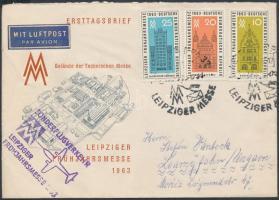 1963 Alkalmi légi levél Magyarországra