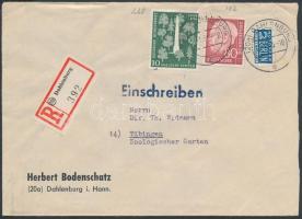 1955 Ajánlott levél
