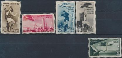1934 Labdarúgó világbajnokság sor 5 értéke Mi 483-487