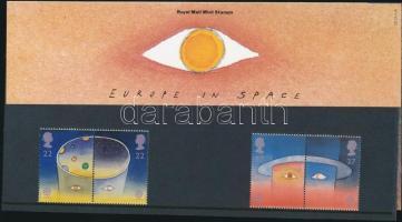 1991 Europa CEPT: űrutazás sor 2 párban díszcsomagolásban Mi 1337-1340