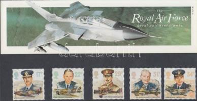 1986 Királyi Légierő sor díszcsomagolásban Mi 1085-1089