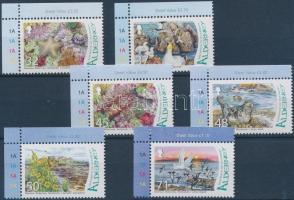 2007 Ramsar Alderney vízivilág ívsarki sor Mi 298-303