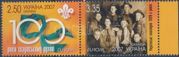 2007 Europa CEPT cserkészet ívszéli pár Mi 856-857