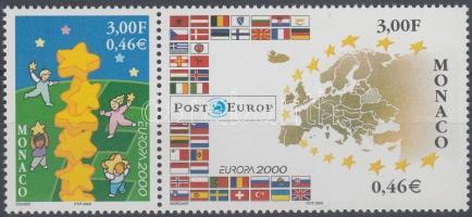 2000 Europa CEPT pár Mi 2499-2500