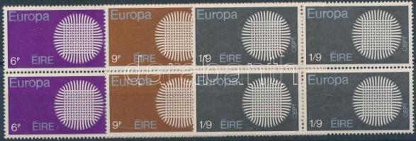 Europa CEPT set in blocks of 4, Europa CEPT sor négyestömbökben