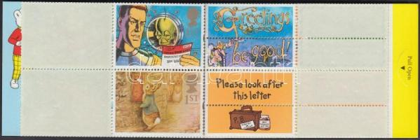 1994 Üdvözlő bélyegek bélyegfüzet Mi MH 105 (1493-1502)