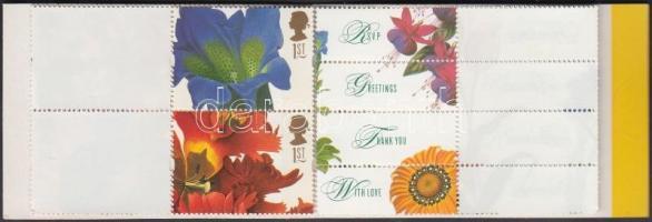 1997 Üdvözlő bélyegek bélyegfüzet Mi MH 115 a I (1667-1676)