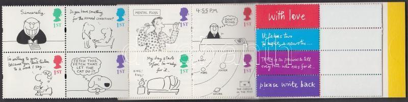 1996 Üdvözlő bélyeg bélyegfüzet MH 110