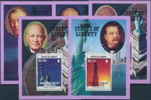 New York's Statue of Liberty 5 blocks, New York-i szabadságszobor 5 blokk